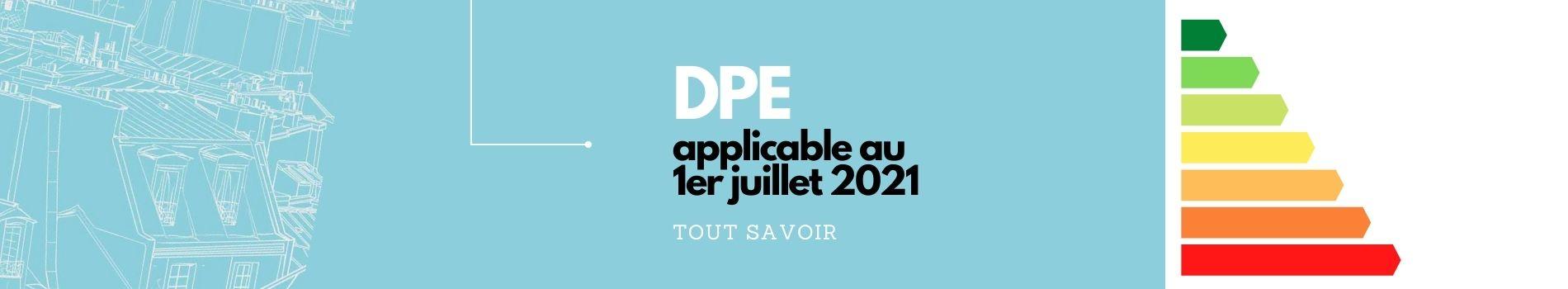 DPE applicable au 1er juillet 2021